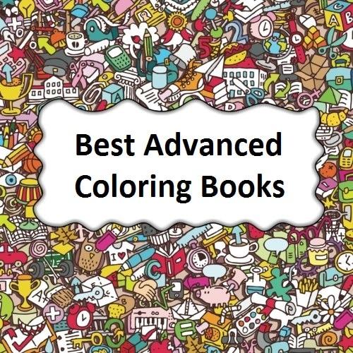 Advanced Coloring Books