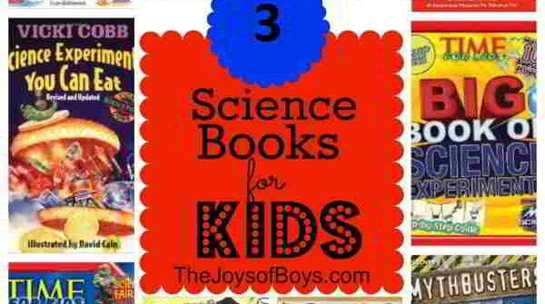 Top 3 Science Books For Kids
